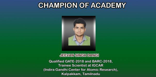 Champion of Academy