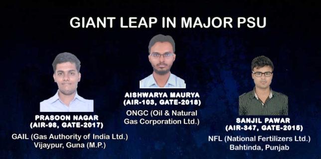 Giant Leap in Major PSU