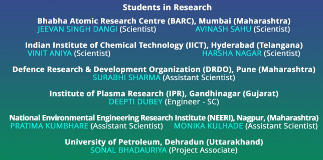 Students in Research