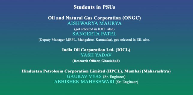 Students in PSUs